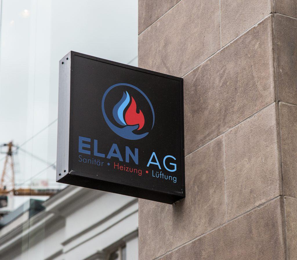 Wall Sign ElanAG